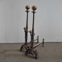 Continental Andirons