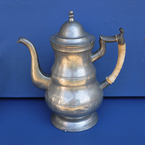 NYC Pewter Coffee Pot